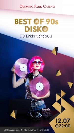 Best of 90s DISKO: DJ Erkki Sarapuu