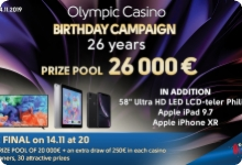 Final draw of the Olympic Casino Birthday Campaign