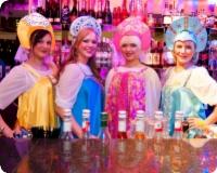 Olympic Casinos tähistati muinasjutulise peoga Vene Uusaasta saabumist