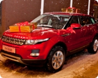 Range Rover Evoque väljamängimine 10.01.2013