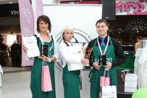 The best non-alcoholic cocktail maker in Estonia is Olympic Casino's bar lady Kelly Papp