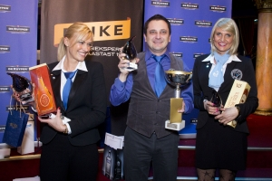 Bar ladies of Olympic Casino among the winners of the Estonian Barmen's Championship.