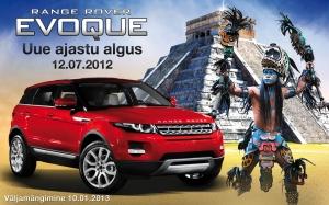 Olympic Casinos võideti eksklusiivne linnamaastur Range Rover Evoque