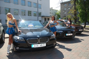 A million Euros' worth of cars drawn by Olympic