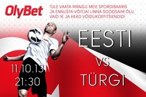 Eesti jalgpallikoondise MM sarja viimane kodumäng: Eesti - Türgi!