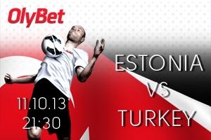 Estonian football teams last home game in this World Cup: Estonia - Turkey!