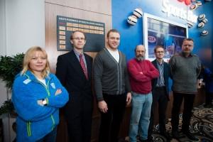 Nabi opened sports journalists' wall of fame in Kristiine sports bar