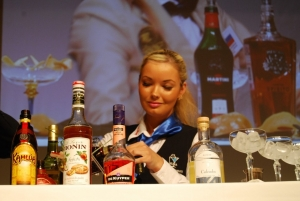Olympic Casino's bar lady Janika Roosimäe won international cocktail competition!