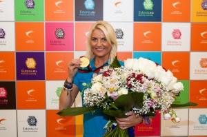 Olympic Casino бармен Криста Мери стала троекратной чемпионкой мира