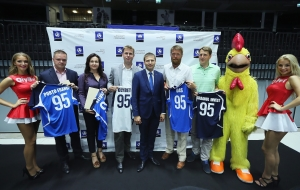 Olympic Entertainment Group became a supporter of the Estonian national volleyball team
