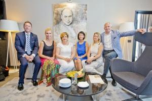 В новом отеле Hilton Tallinn Park был торжественно открыт свит маэстро Эри Класа