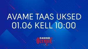 AVAME TAAS UKSED 01.06 kell 10:00