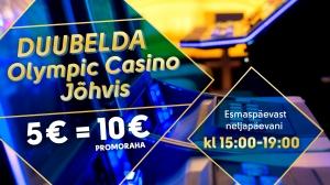 Duubelda Olympic Casino Jõhvis