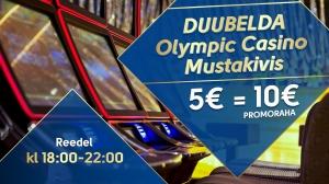 Duubelda Olympic Casino Mustakivis