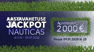 Nautica Aastavahetuse Jackpot 2000€