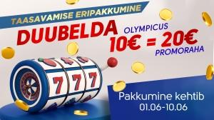 Taasavamise eripakkumine: Duubelda Olympicus