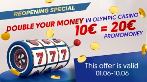 Special reopening offer: Double up in the Olympic