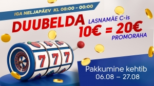 Duubelda Olympic Casino Lasnamäe Centrumis