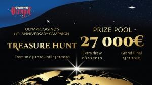 "Olympic Casino 27, ""The Treasure Hunt"""