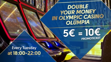 Double your money in Olympic Casino Olümpia