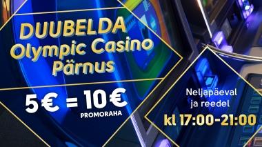 Duubelda Olympic Casino Pärnus