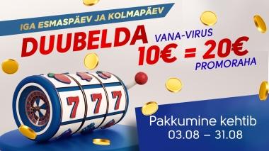 Duubelda Olympic Casino Vana-Virus