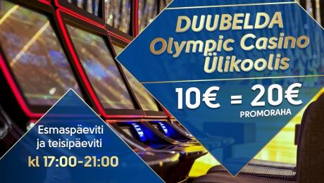 Duubelda Olympic Casino Ülikoolis