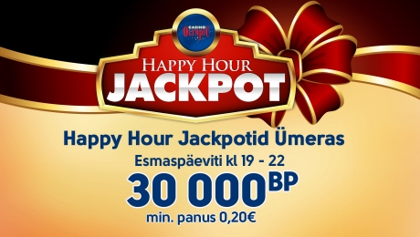 Happy Hour Jackpotid Ümeras