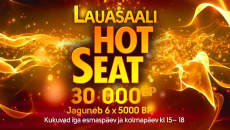 Hot Seat Park kasiino mängulaudades