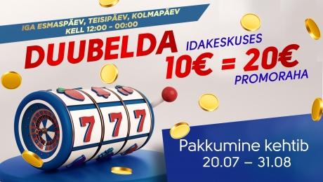 Duubelda Olympic Casino Idakeskuses