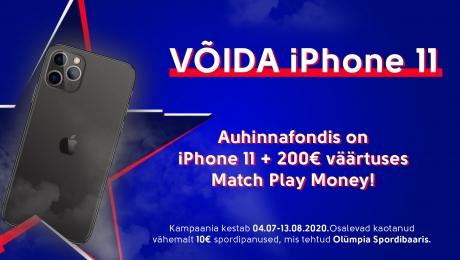 Spordipanustaja, võida iPhone 11!