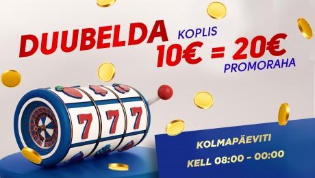 Duubelda Olympic Casino Koplis