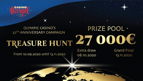 "Olympic Casino 27, ""The Treasure Hunt"""