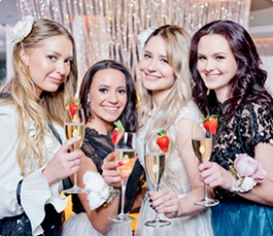 Naughty bachelorette party